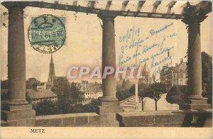 Old Postcard Metz