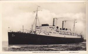 RP, Steamer, Canadian Pacific S. S. Duchess Of Bedfordl, 1920-1940s