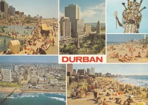 Durban Marine Parade South Africa Postcard