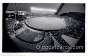 Yankee Stadium New York City, New York Baseball Real Photo Unused