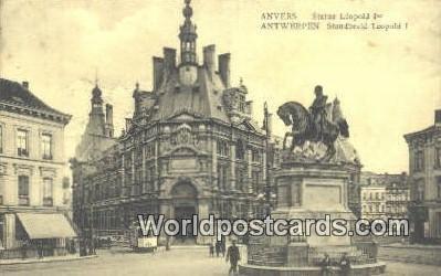 Statue Leopold Anvers Germany Unused