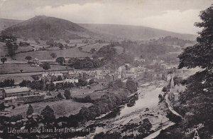 LLANGOLLEN , Wales , 00-10s ; Castle Dinas Bran from Geraint ; TUCK 1968