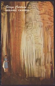 Stage Curtain,Meramec Caverns,Stanton,MO