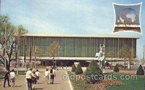 USA pavilion New York, USA 1964 - 1965, Worlds Fair, Exposition, Postcard Pos...