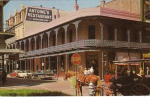Louisiana New Orleans Antoine's Restaurant 1967