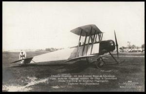 Germany Sanke 282 Captured English Avro Airplane  RPPC 64659