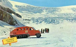 Canada- Alberta, Columbia Ice Field, Snowmobile
