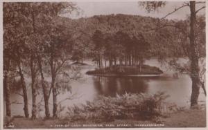 A Peek Of Loch Beneveian Glen Affaric Vintage Real Photo Postcard