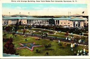 New York Syracuse New York State Fair Grounds Dairy and Grange Buildings