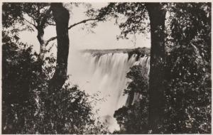 RPPC Victoria Falls Eastern Cataract - Rhodesia now Zimbabwe