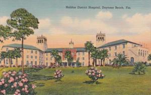 Florida Daytona Beach Halifax District Hospital Curteich