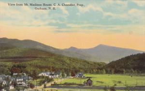View from Mt. Madison House, C. A. Chandler, Prop. Gorham, New Hampshire, 00-10s