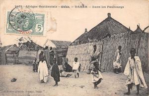 Senegal Dakar - Dans les Faubourgs, Native People
