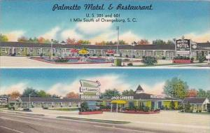 South Carolina Orangeburg Palmetto Motel &  Restaurant