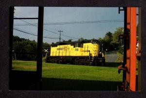 NH St Lawrence Atlantic Railroad Train N Stratford New Hampshire Postcard RR PC