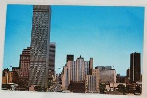 Vintage Postcard:Montreal Skyline, Dorchester, St. 1967- World Expo City.