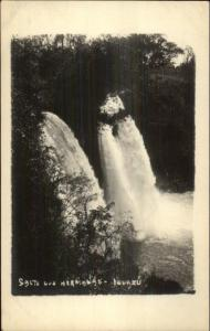Iguazu Peru Waterfall (in background) c1910 Real Photo Postcard #6