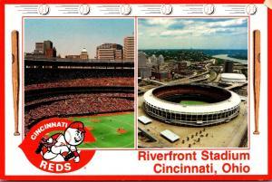 Ohio Cincinnati Riverfront Stadium Home Of The Cincinnati Reds