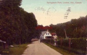 SPRINGBANK PARK, LONDON, ONT CANADA 1915