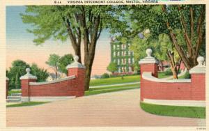 VA - Bristol, Virginia Intermont College, Entrance