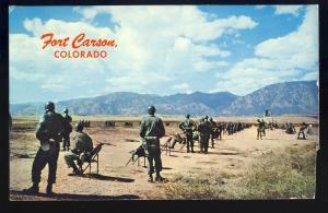 Fort Carsons,Colorado/CO Postcard, Rifle Range, 1967!