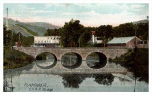 7849 VT Northfield  C.V. Railroad bridge