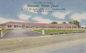 North Carolina Dawsons Motor Court