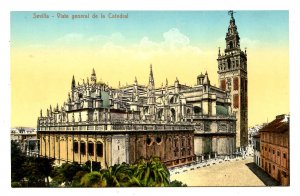 Spain - Sevilla. The Cathedral