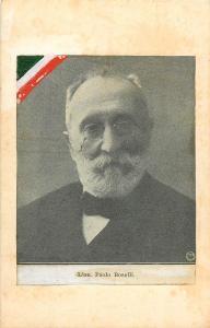 Italian army history politician Paolo Boselli vintage newspaper magasine scrap