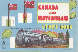 Canada & NEWFOUNDLAND Piture Cut-Out Story Book , 1939