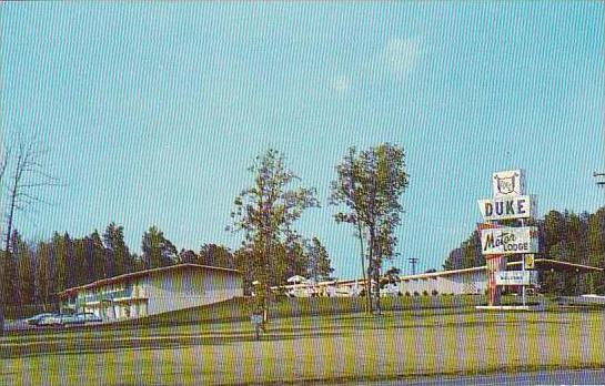 North Carolina Durham Duke Motor Lodge
