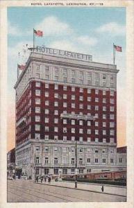 Kentucky Lexington Hotel Lafayette 1952
