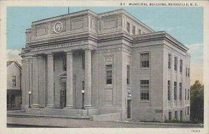 North Carolina Reidsville Municipal Building