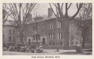 MARSHALL , Michigan, 1910s; High School