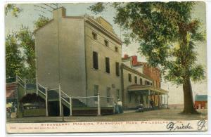 Strawberry Mansion Fairmount Park Philadelphia PA 1906 postcard