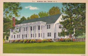 North Carolina Tryon The Mimosa Inn
