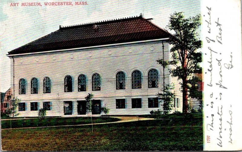 Art Museum Worcester Massachusetts 1907