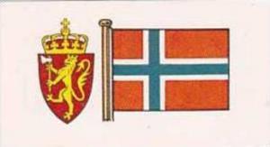 Brooke Bond Tea Vintage Trade Card Flags &  Emblkems Of The World No 28 No...