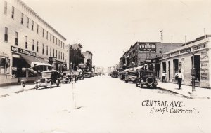 RP: SWIFT CURRENT , Saskatchewan , Canada , 1900-10s; Central Avenue