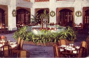 1911 FOUNTAIN IN SOUTH GRILL ROOM, MARSHALL FIELD & CO., CHICAGO
