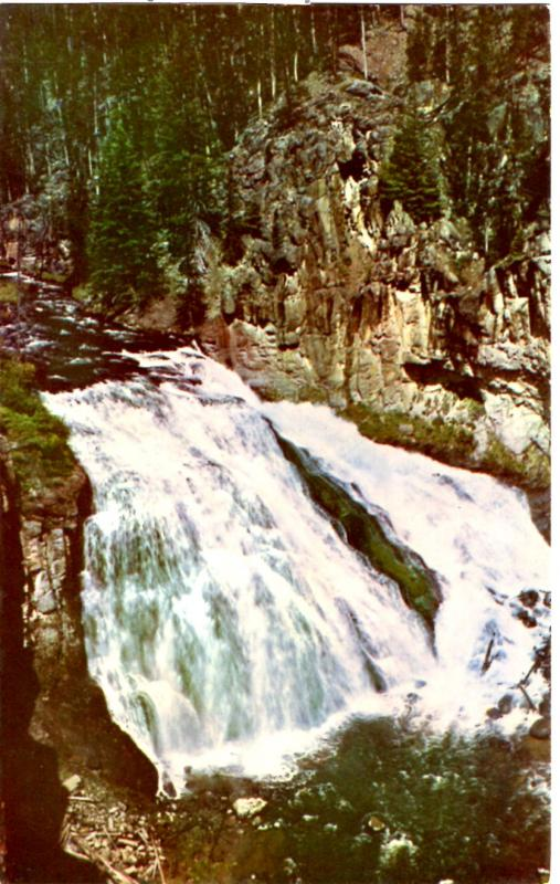 Haynes 51 Series #051 Gibbon Falls, Yellowstone National Park