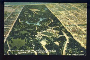 San Francisco, California/CA Postcard, Aeroplane View Of Golden Gate Park
