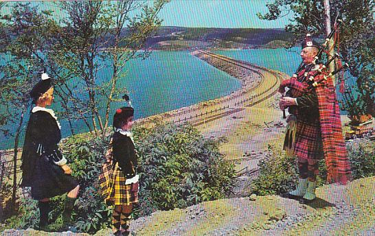 Canada Nova Scotia Cape Breton The Road To The Isles Causeway