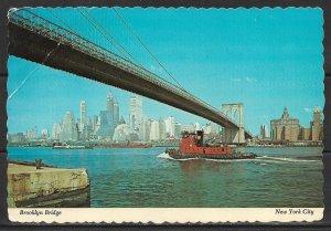 New York, New York - Brooklyn Bridge - [NY-426X]