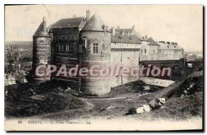 Old Postcard Dieppe Le Vieux Chateau