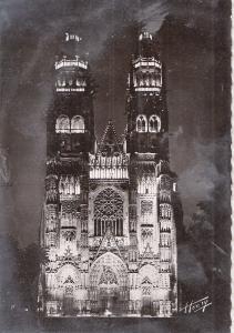BF13307 tours i et l la cathedrale illuminee france front/back image