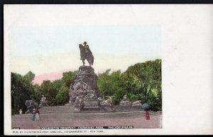 4520) PA PHILADELPHIA Washington Monument Fairmount Park Und/B Illustrated PC