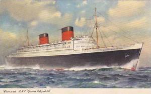 Cunard R M S Queen Elizabeth 1958