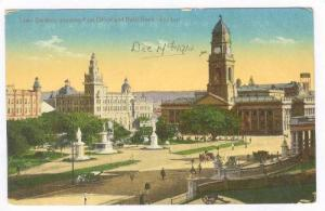 Town Gardens, Post Office, Natal Bank, Durban, South Africa, 1914