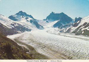Canada Stewart-Cassiar Highway Salmon Glacier Stewart British Columbia
